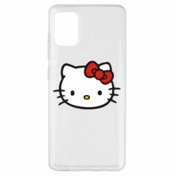 Чехол для Samsung A51 Kitty