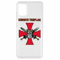 Чохол для Samsung A51 Knights templar helmet and swords