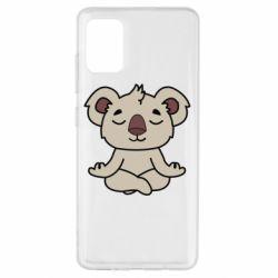 Чехол для Samsung A51 Koala