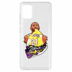 Чехол для Samsung A51 Kobe Bryant and sneakers