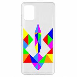 Чехол для Samsung A51 Кольоровий герб