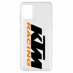 Чехол для Samsung A51 KTM Racing