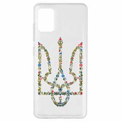 Чехол для Samsung A51 Квітучий герб України