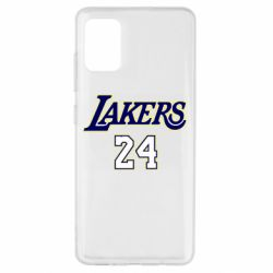 Чехол для Samsung A51 Lakers 24