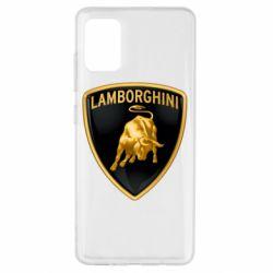 Чохол для Samsung A51 Lamborghini Logo