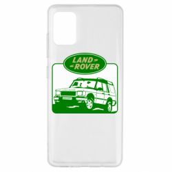 Чохол для Samsung A51 Land Rover