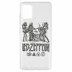 Чехол для Samsung A51 Led-Zeppelin Art