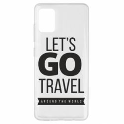 Чохол для Samsung A51 Let's go travel around the world