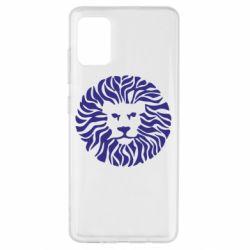 Чехол для Samsung A51 лев
