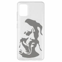 Чехол для Samsung A51 Лице козака