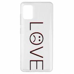 Чохол для Samsung A51 lil peep: love