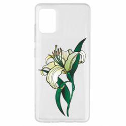 Чохол для Samsung A51 Lily flower