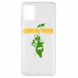 Чехол для Samsung A51 Linkin Park Album