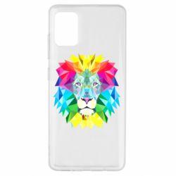 Чехол для Samsung A51 Lion vector