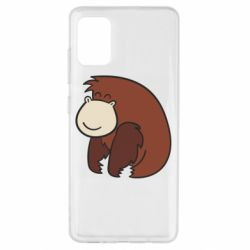 Чехол для Samsung A51 Little monkey