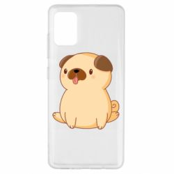 Чехол для Samsung A51 Little pug