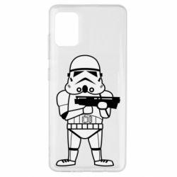 Чохол для Samsung A51 Little Stormtrooper