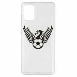 Чохол для Samsung A51 Liverpool and soccer ball