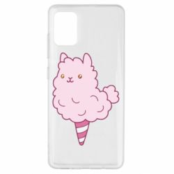 Чехол для Samsung A51 Llama Ice Cream