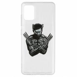 Чехол для Samsung A51 Logan Wolverine vector
