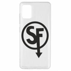 Чохол для Samsung A51 Logo Sally Face