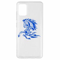 Чехол для Samsung A51 Лошадь