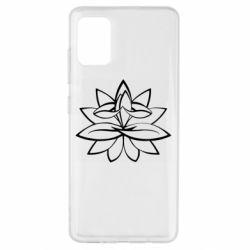 Чохол для Samsung A51 Lotus yoga