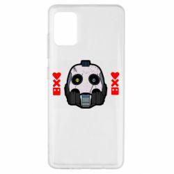 Чехол для Samsung A51 Love death and robots