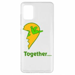 Чохол для Samsung A51 Love is...Together