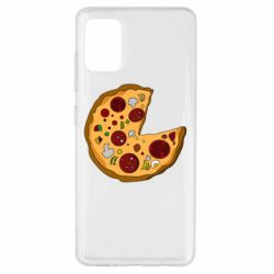 Чохол для Samsung A51 Love Pizza