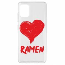 Чохол для Samsung A51 Love ramen