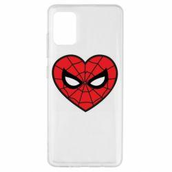 Чохол для Samsung A51 Love spider man