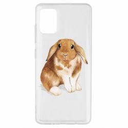 Чохол для Samsung A51 Маленький кролик