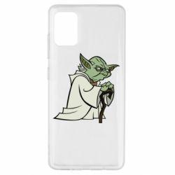 Чехол для Samsung A51 Master Yoda