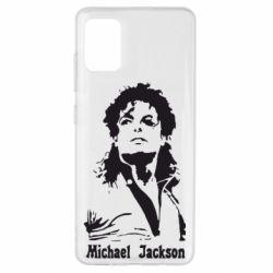 Чехол для Samsung A51 Майкл Джексон