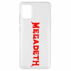 Чехол для Samsung A51 Megadeth