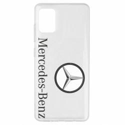 Чехол для Samsung A51 Mercedes-Benz Logo