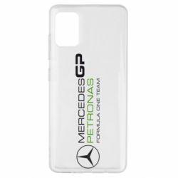 Чехол для Samsung A51 Mercedes GP Vert