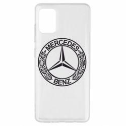 Чохол для Samsung A51 Mercedes Логотип