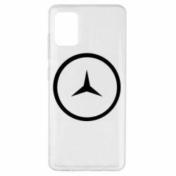 Чехол для Samsung A51 Mercedes new logo