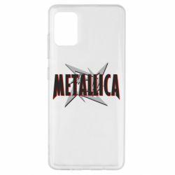 Чохол для Samsung A51 Логотип Metallica