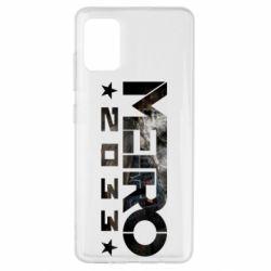 Чехол для Samsung A51 Metro 2033 text