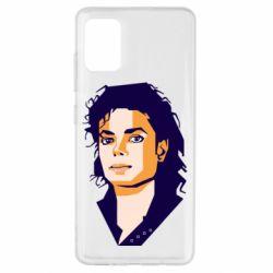 Чохол для Samsung A51 Michael Jackson Graphics Cubism