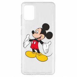 Чохол для Samsung A51 Mickey Mouse