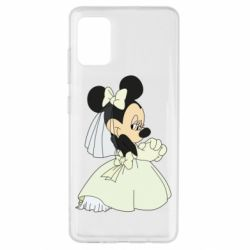 Чехол для Samsung A51 Minnie Mouse Bride