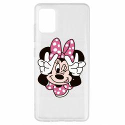 Чохол для Samsung A51 Minnie Mouse