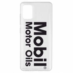 Чехол для Samsung A51 Mobil Motor Oils