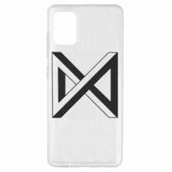 Чохол для Samsung A51 Monsta x simbol
