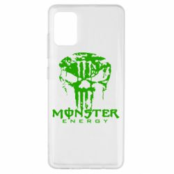 Чохол для Samsung A51 Monster Energy Череп