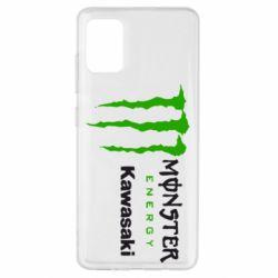 Чохол для Samsung A51 Monster Energy Kawasaki